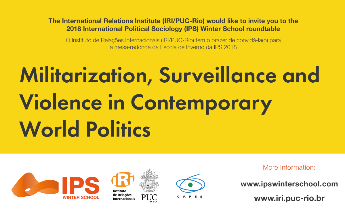 Militarization, Surveillance and Violence in Contemporary World Politics | Second Week roundtable